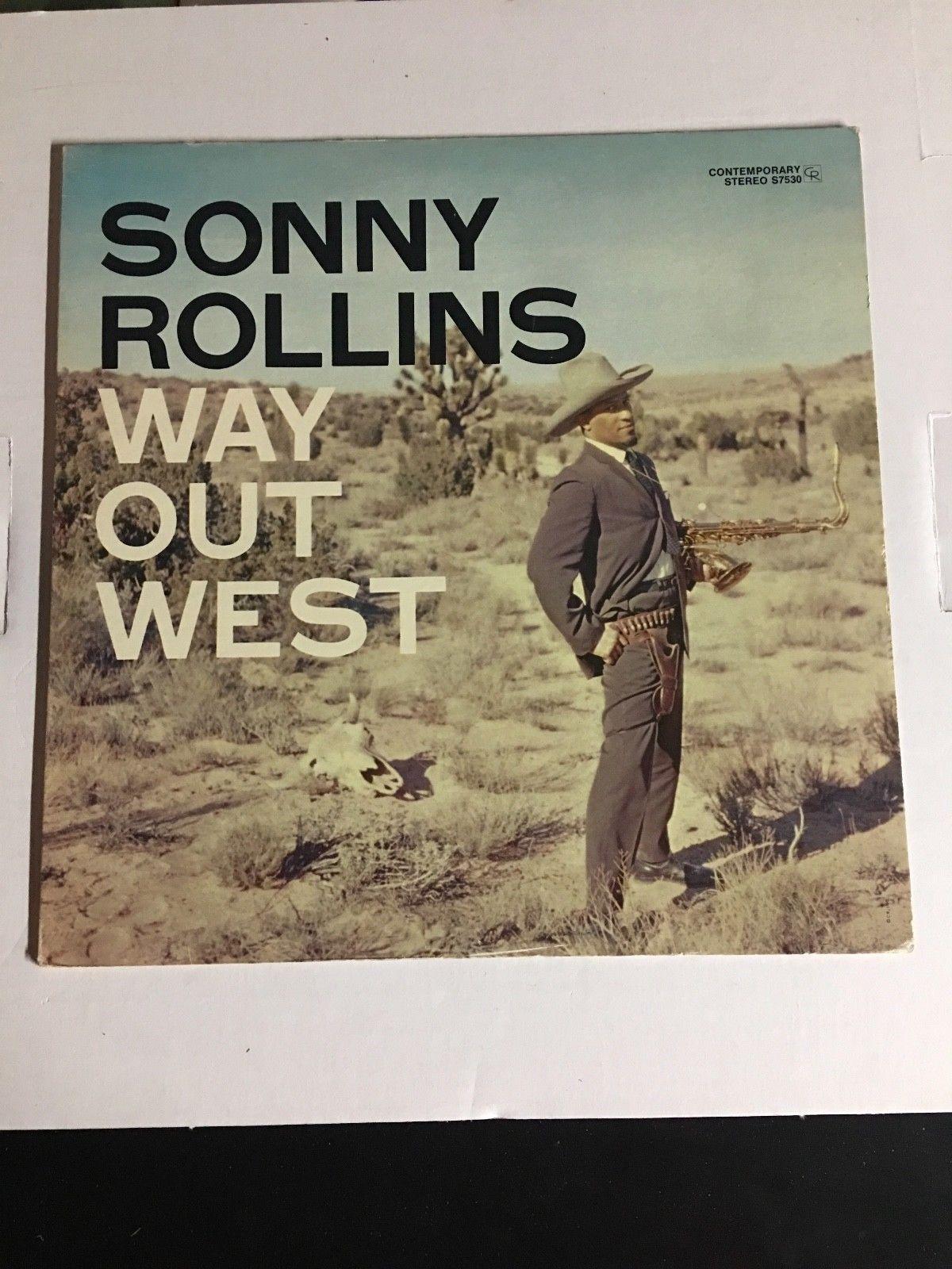 Sonny Rollins Way Out West LP On Contemporary S7530