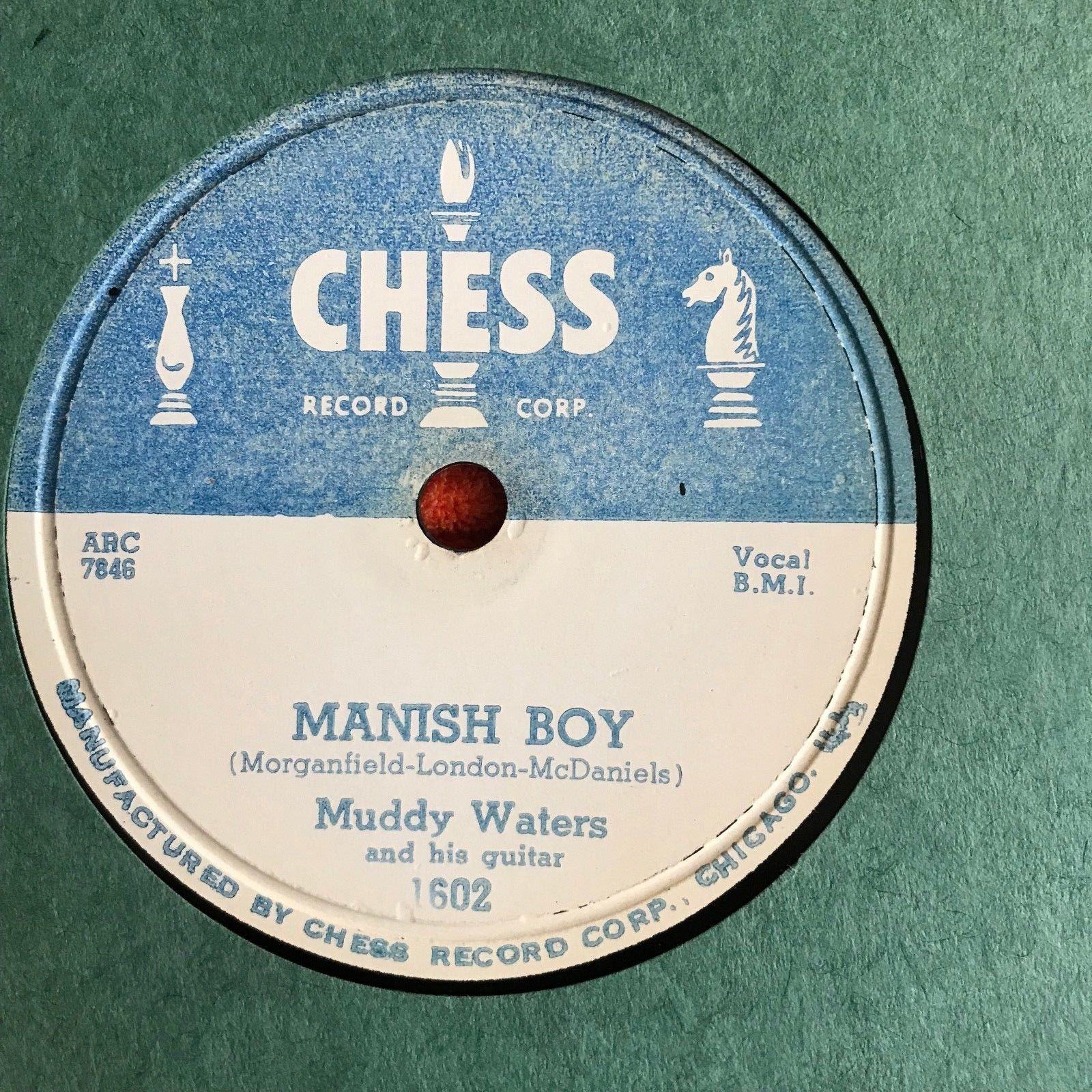 MUDDY WATERS MANISH BOY/YOUNG FASHION WAYS CHESS 78 MINT- OLD STORE STOCK