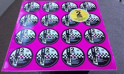 THIS ARE 2 TONE Various. Original 1st.prs UK LP. 2 TONE `POSTER` 1983. STUNNING