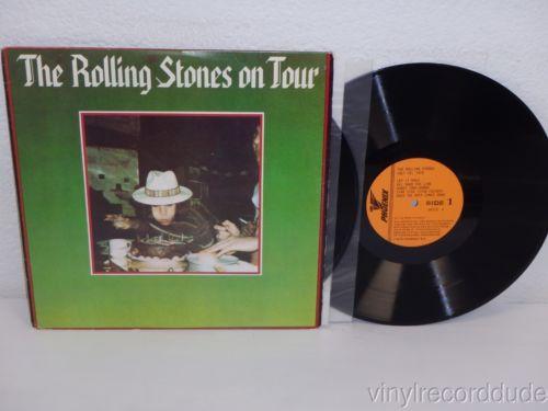 THE ROLLING STONES On Tour 1979 2x LP Phoenix Records 44773 Anaheim California