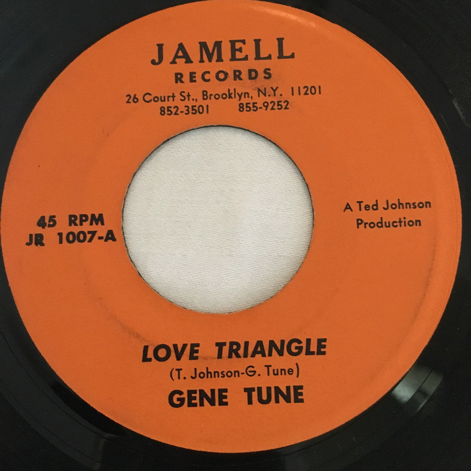 Gene Tune - Love Triangle / Night Walker