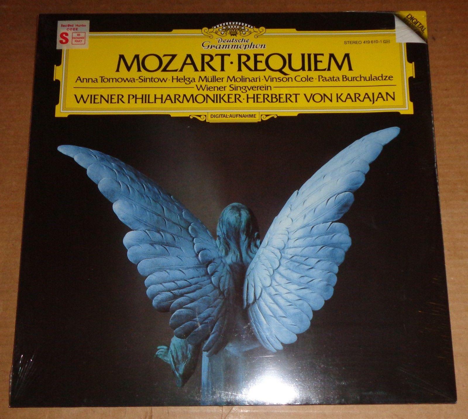 Karajan/Vienna Philharmonic MOZART Requiem - DG Digital 419 610-1 SEALED