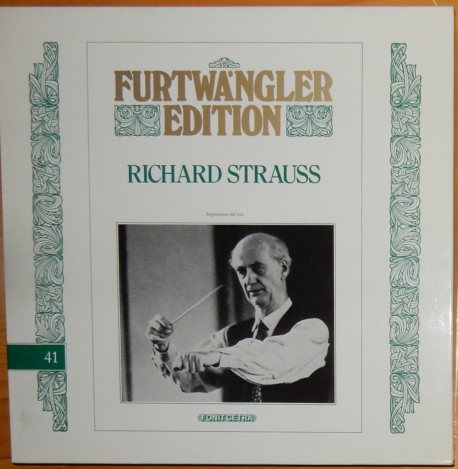 RICHARD STRAUSS; FURTWANGLER EDITION #41; FONITCETRA ITALY 3 LPS NM-M
