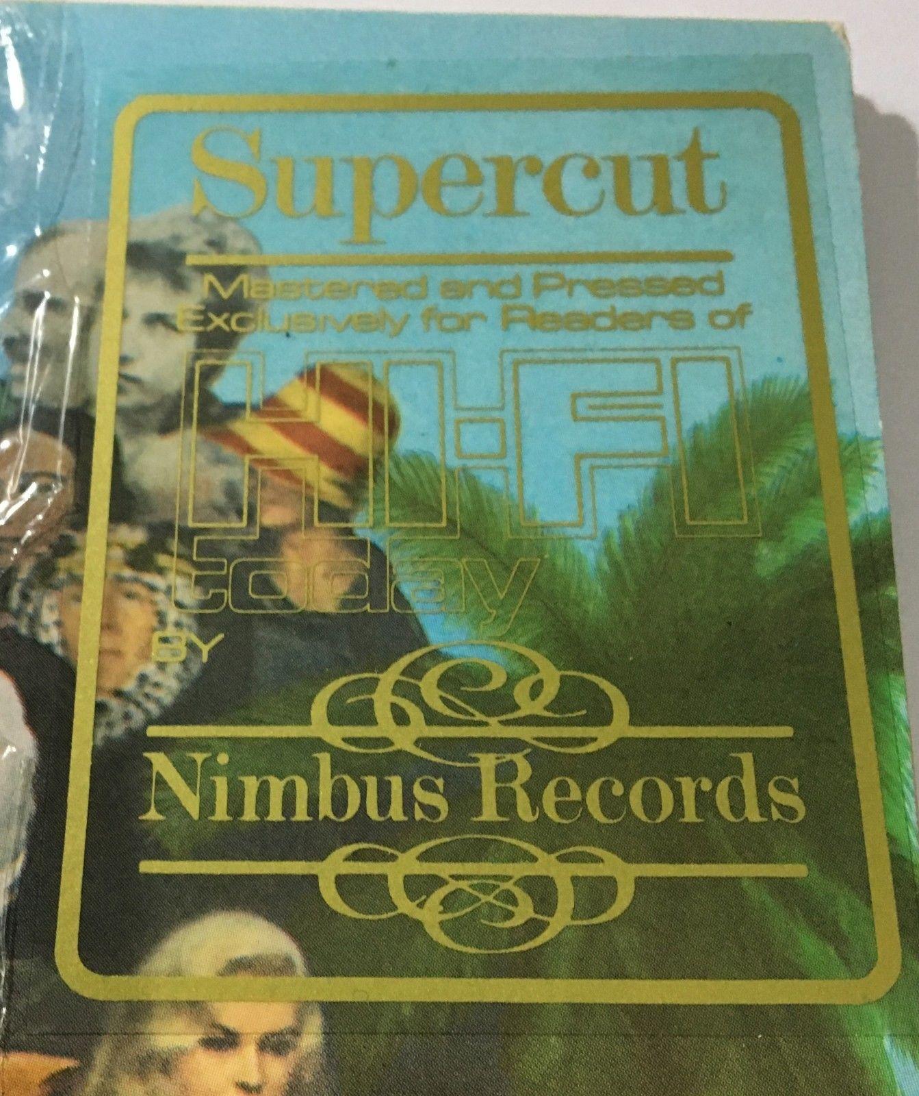 "THE BEATLES - ""SGT.PEPPERS"" - NIMBUS SUPERCUT AUDIOPHILE PRESSING - MINT"
