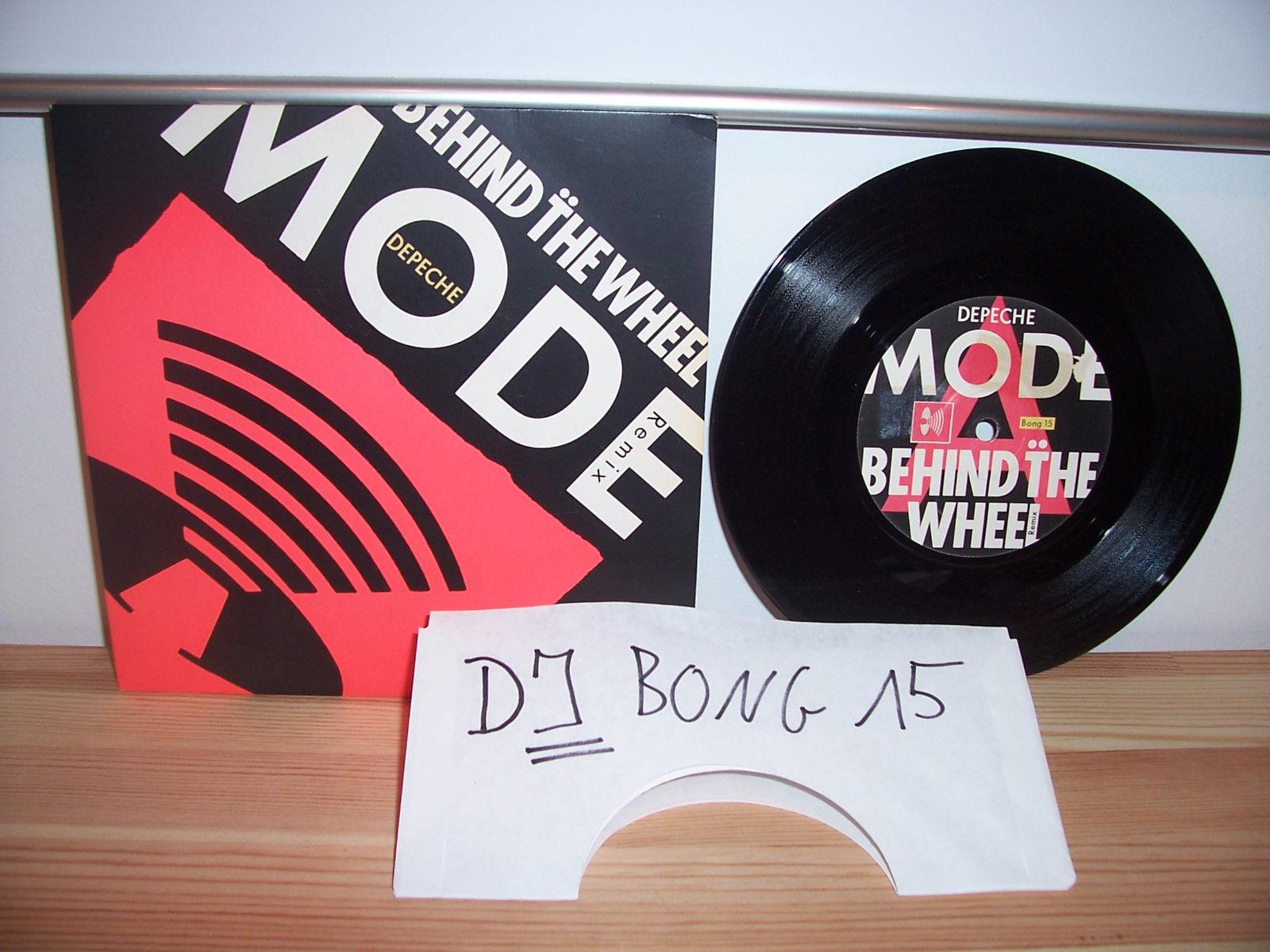 "Depeche Mode 7"" Single BEHIND THE WHEEL - DJ BONG 15 - UK PROMO"