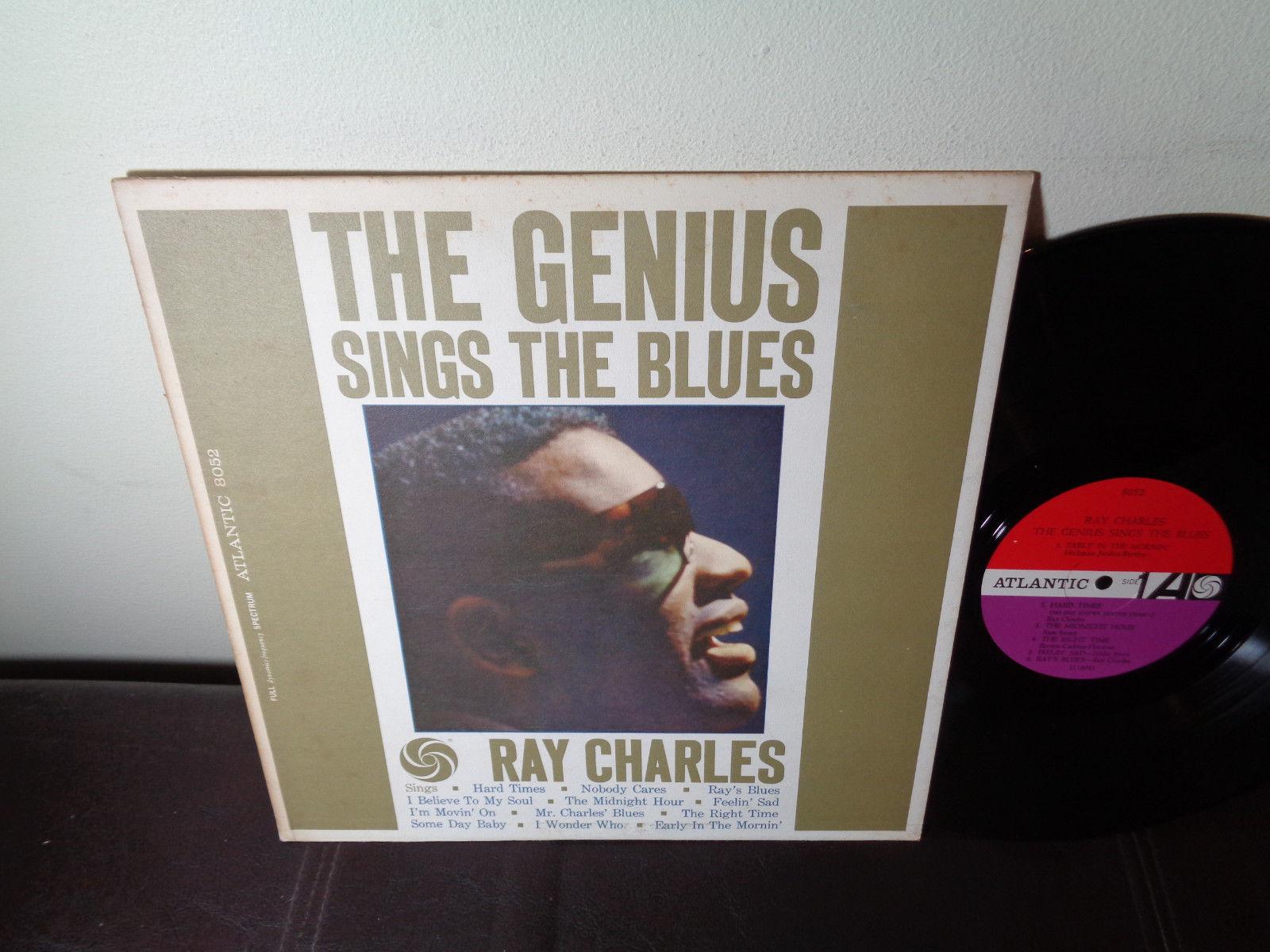 RAY CHARLES ATLANTIC 8052 MONO NM 1961 / R&B Soul Jazz / GENIUS SINGS THE BLUES