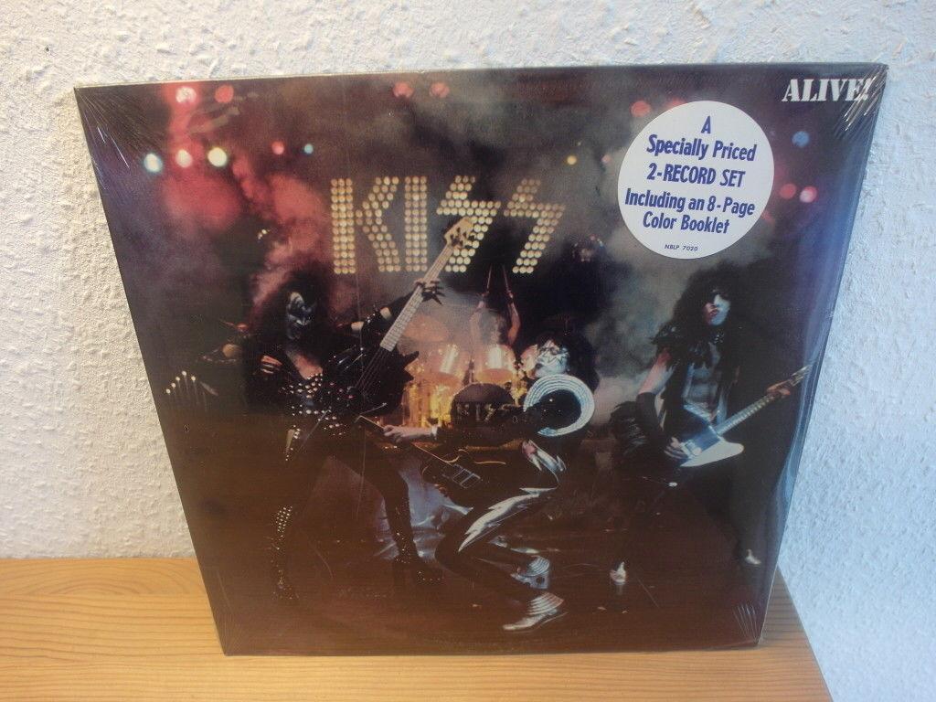 KISS Alive 2 LP Set Casablanca NBLP 7020 1975 Sealed Mint UNPLAYED WOW....