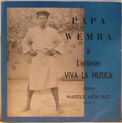 CONGO SOUKOUS  PAPA WEMBA VIVA LA MUSICA MABELE MOKONZI HEAR