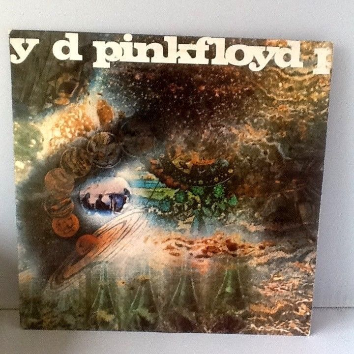 Pink Floyd A Saucerful Of Secrets vinyl LP 1968 1st UK Mono Columbia SX 6258