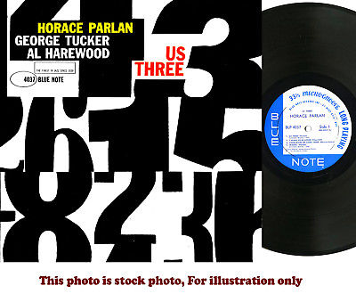 "HORACE PARLAN, George Tucker, US THREE, Blue Note BLP-4037 RVG ""P"" EAR"