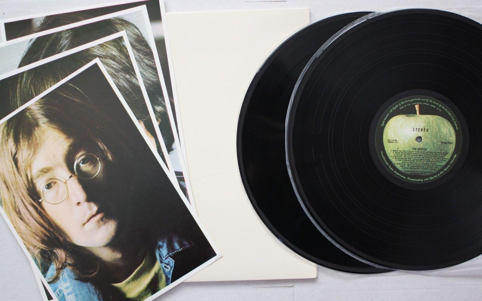 THE BEATLES White Album RARE MINT 1981 OZ PRESSING VINYL 2LP Classic Psych Rock