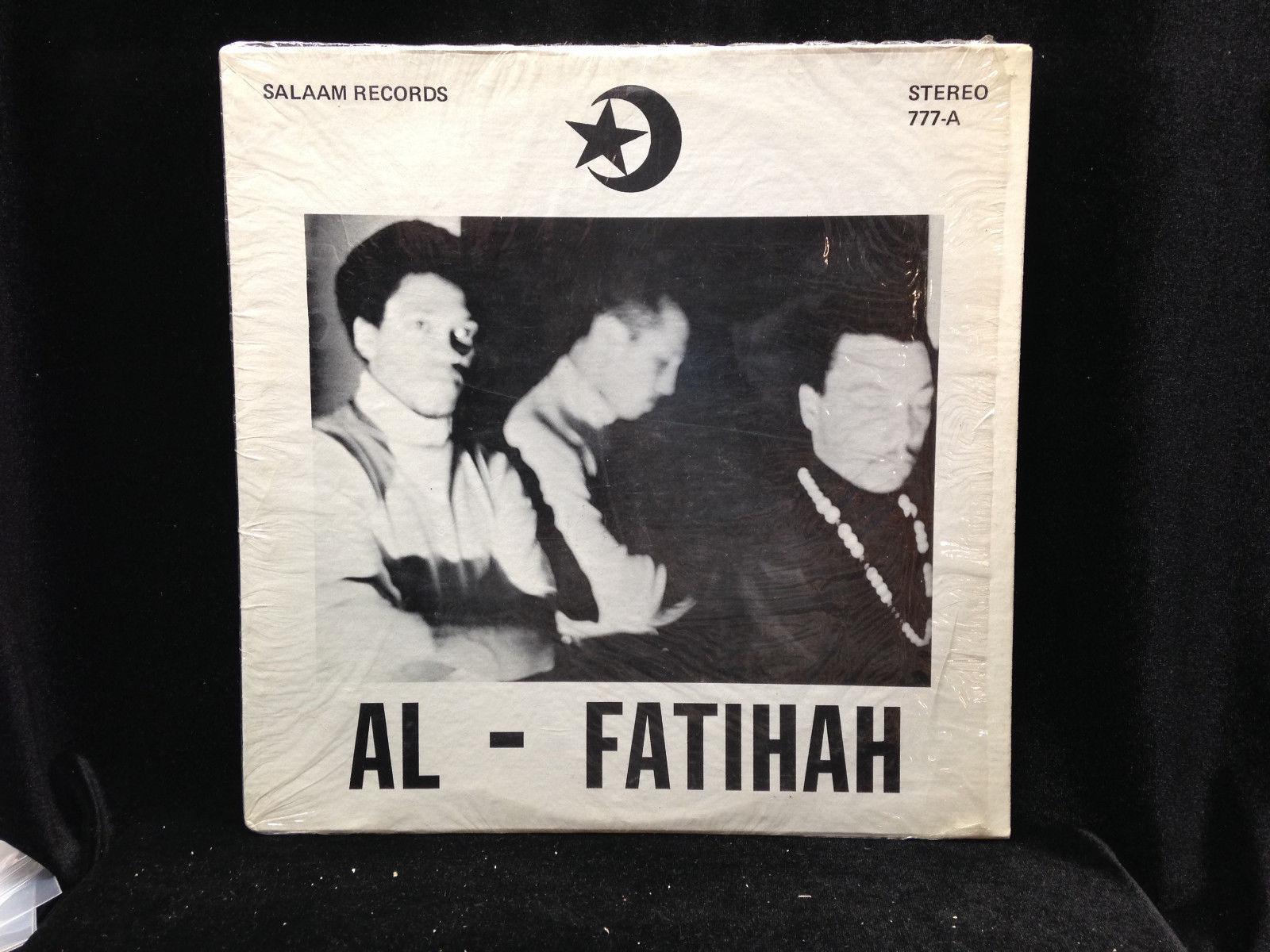 Black Unity Trio-Al-Fatihah-Salaam 777-VERY RARE FREE SPIRITUAL JAZZ GREAT SHAPE