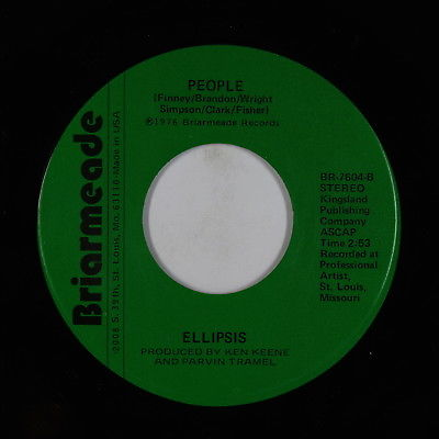 70s Soul Funk 45 - Ellipsis - People - Briarmeade - VG++ mp3