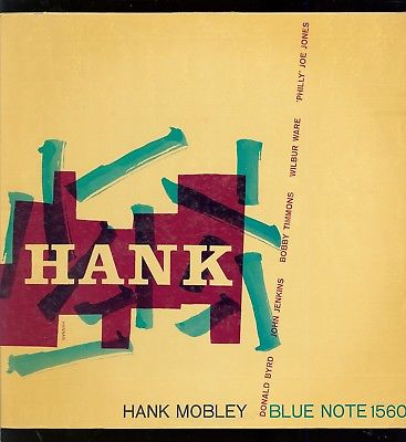 Hank Mobley on Blue Note 1560