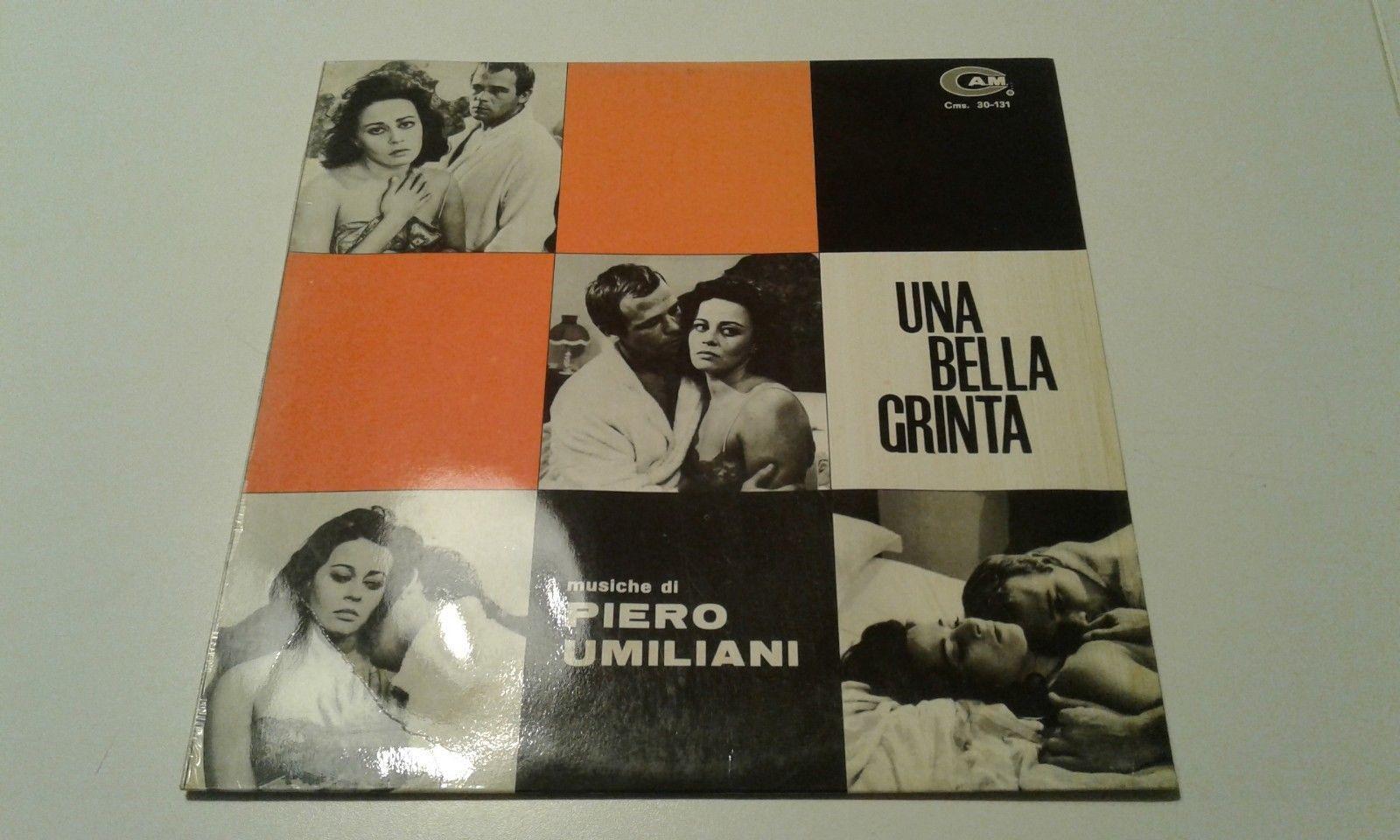 LP - PIERO UMILIANI - UNA BELLA GRINTA - CAM CMS 30-131 - ORIGINAL