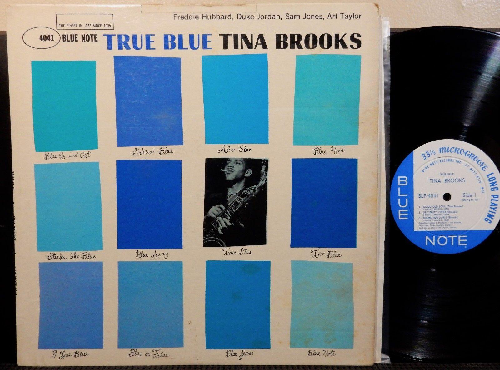TINA BROOKS TRUE BLUE NOTE BLP 4041 MONO DG NYC RVG EAR P HUBBARD JORDAN 1960