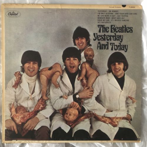 """THE BEATLES """"YESTERDAY & TODAY"""" 1ST STATE MONO BUTCHER COVER & LP VG+"""