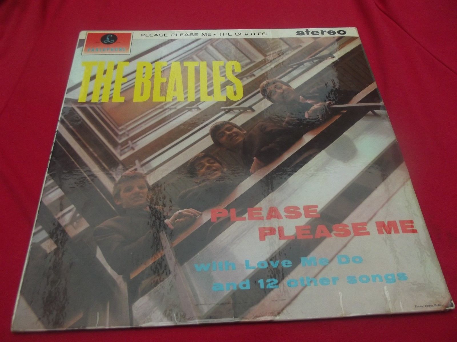 BEATLESPLEASE PLEASE ME, 1st BLACKGOLD STEREO A MAGNIFICENT EXAMPLE