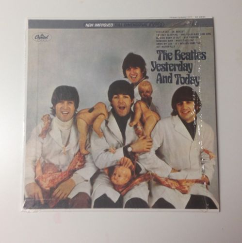 """The Beatles """"Yesterday""""...and Today Album """"Butcher"""" cover LP ST2553"""