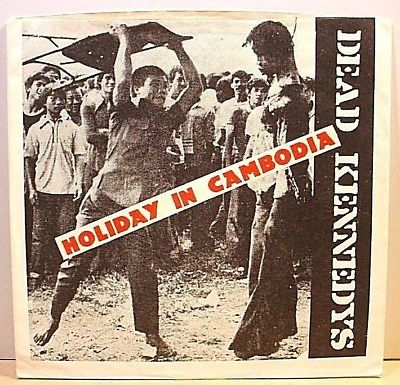 "DEAD KENNEDYS - Holiday In Cambodia - ORIGINAL '80 - 7"" Single, PS, Lyrics"