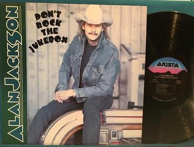 ALAN JACKSON DON'T ROCK THE JUKEBOX NM RARE 1991 RECORD CLUB ISSUE CRC ARISTA