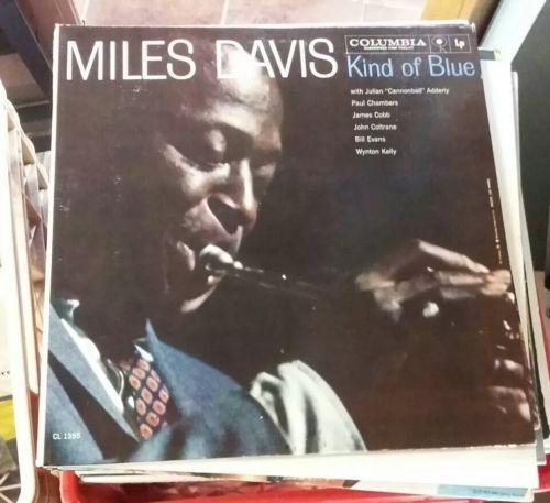 Miles Davis Kind Of Blue Promo Super Rare Vinyl LP Original Mono 1959 Jazz