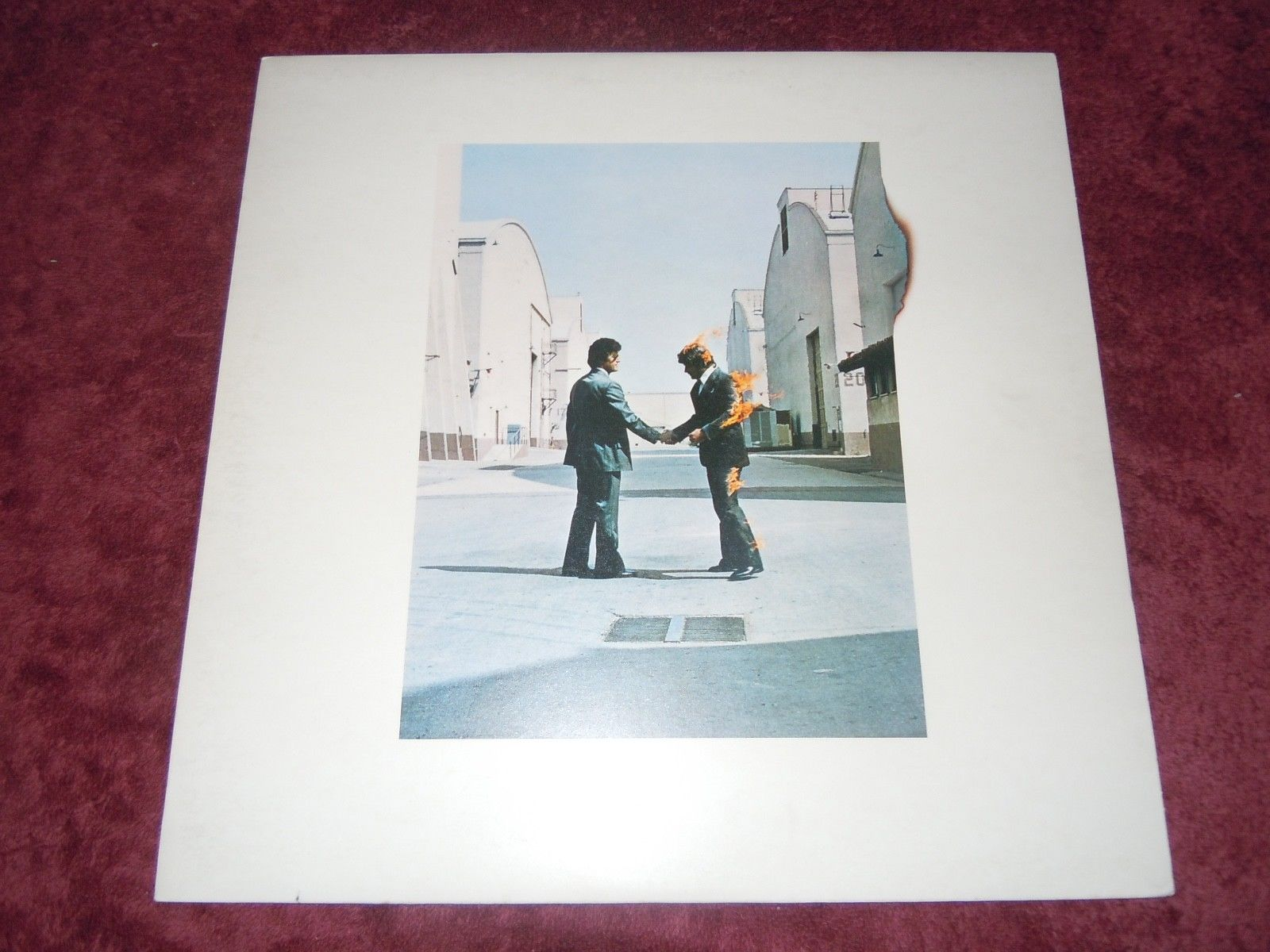 Pink Floyd Wish You Were Here1975 1st Press A/1 B/3 UK Harvest Bag W/Sticker EX+