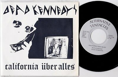 "DEAD KENNEDYS California Uber Alles 1979 US 7"" w/PS EX/Mint"