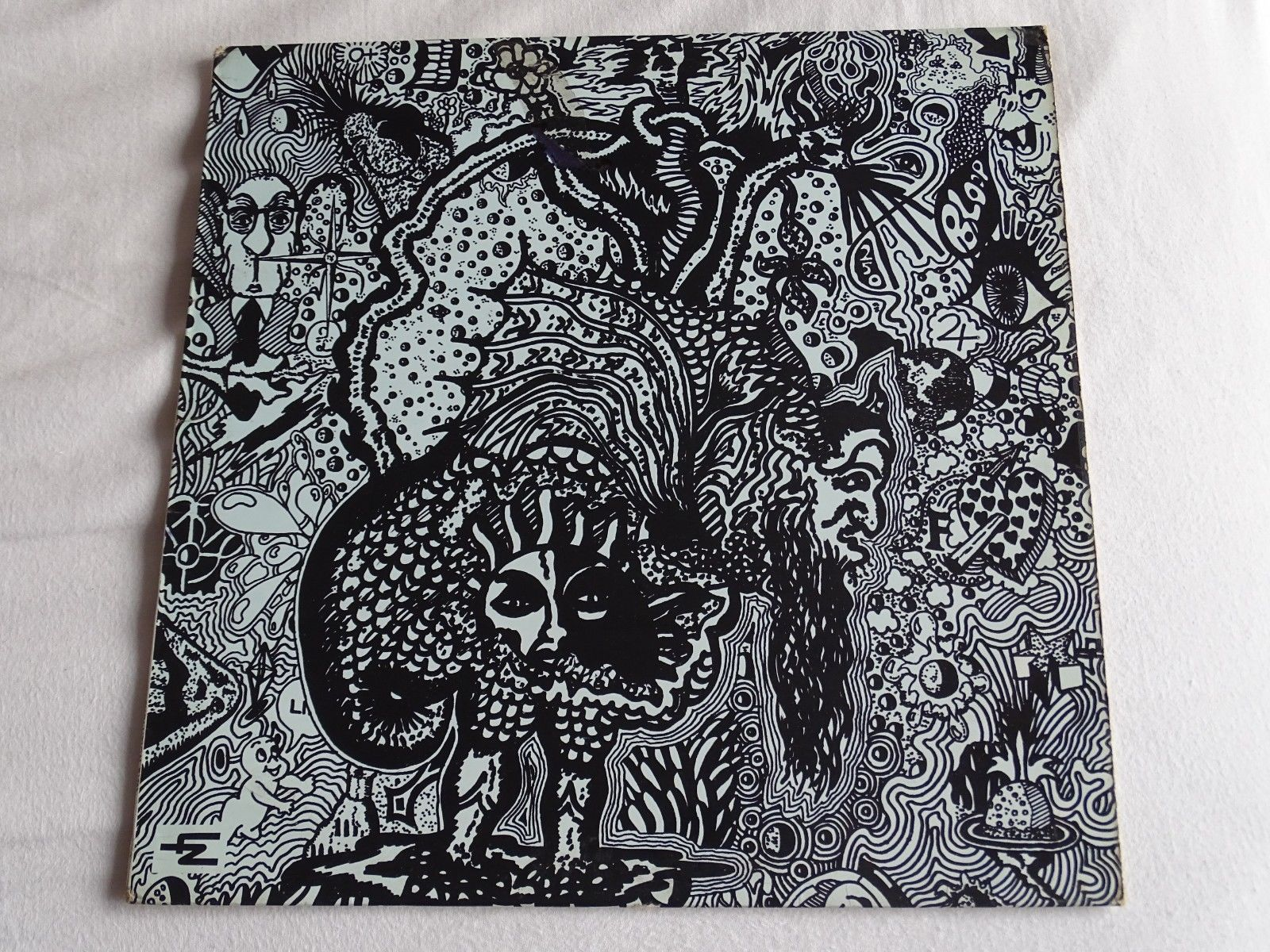ARZACHEL,, ARZACHEL.. UK Original 1969 EVOLUTION label LP. EXCELLENT. PSYCH.