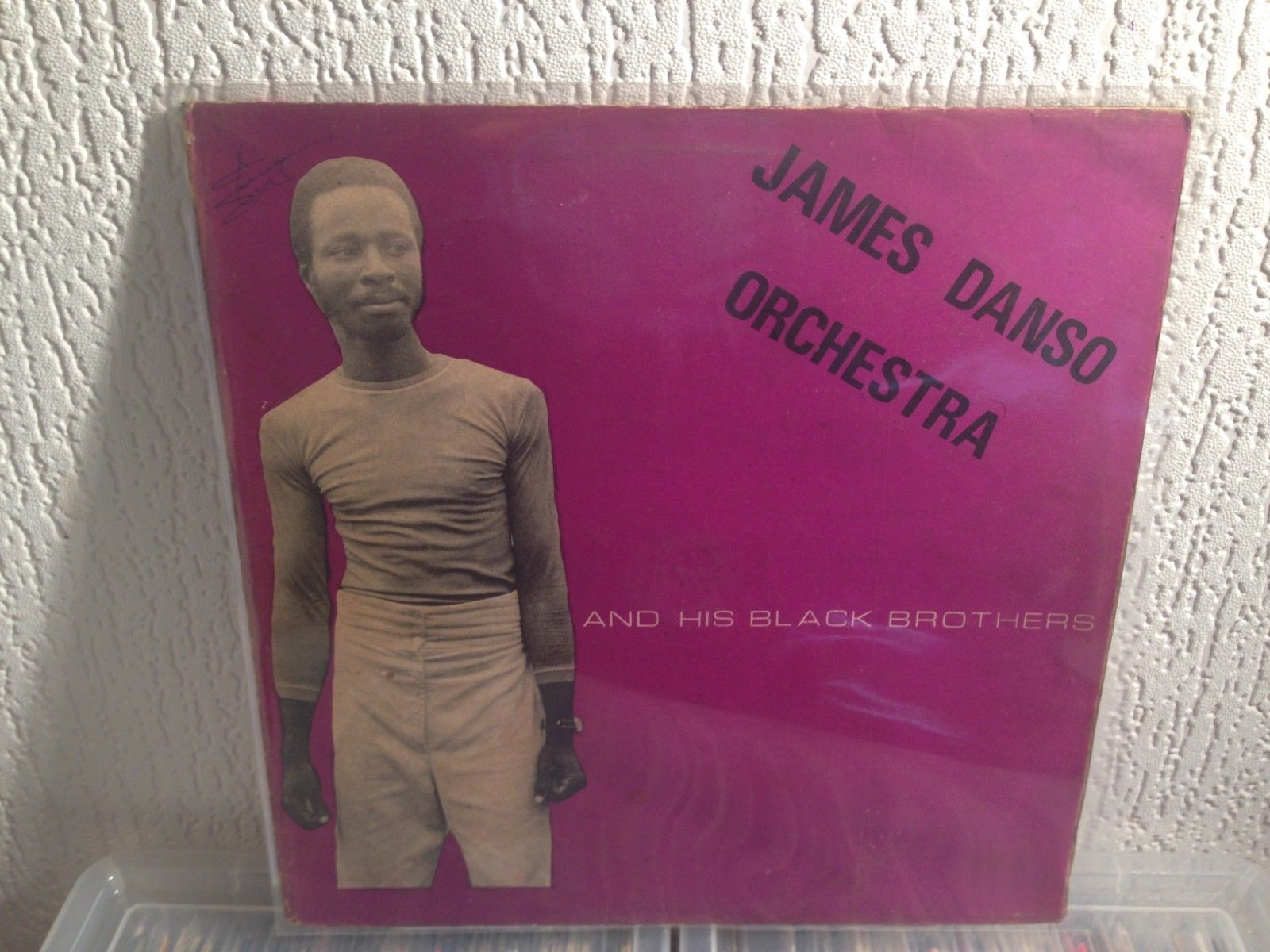 JAMES DANSO ORCHESTRA afro lp Because Of Money soukous