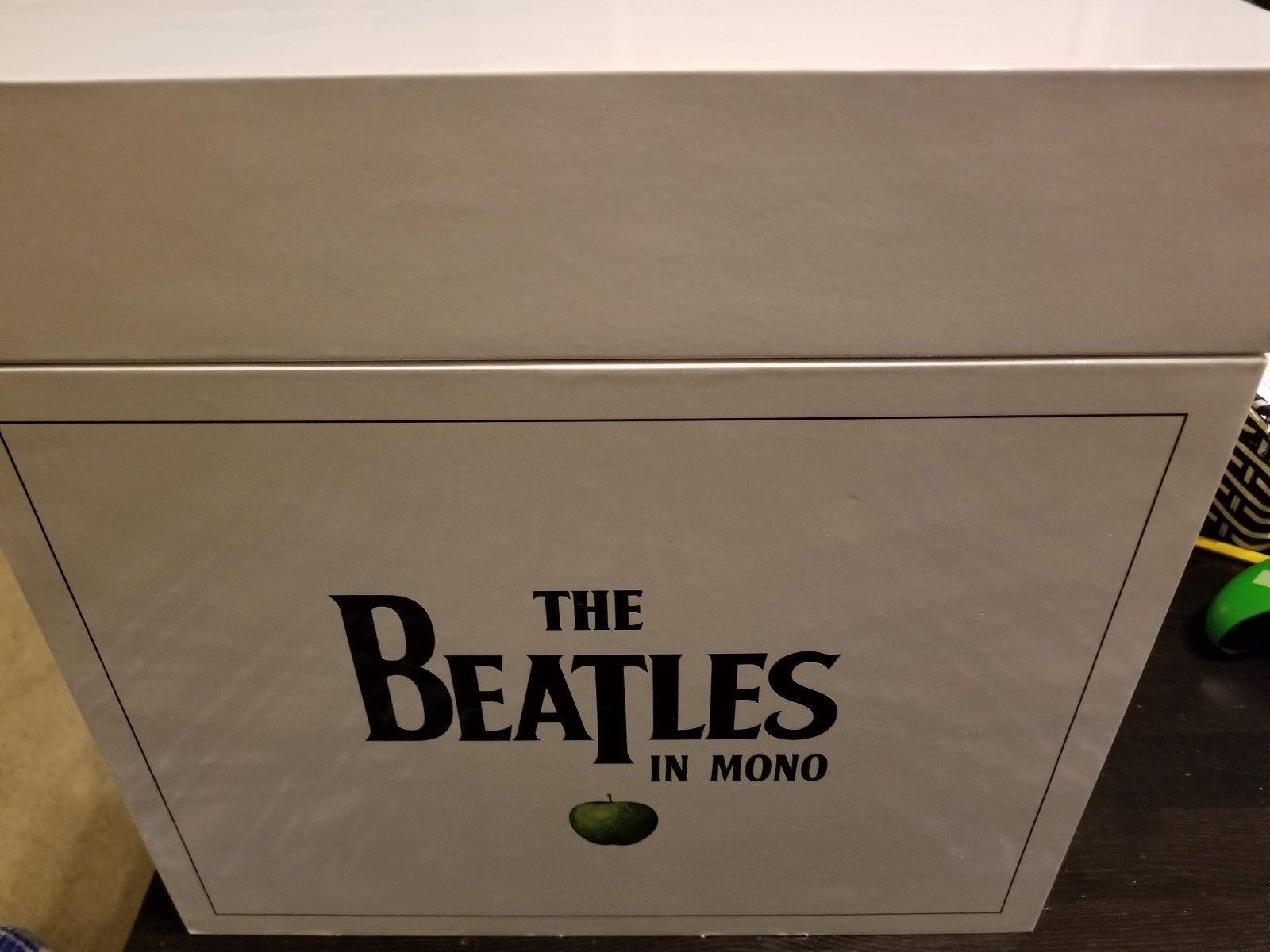The Beatles in Mono [Vinyl BoxSet] New  14 Discs with book & case. Free NA Ship