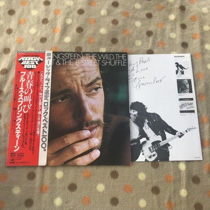 "Bruce Springsteen ?""The Wild, The Innocent & The E Street S"" LP JAPAN PRESS OBI"