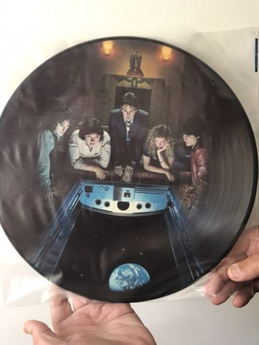 Paul McCartney RARE Back To The Egg Picture Disc (Wings) wPersonalised Autograph