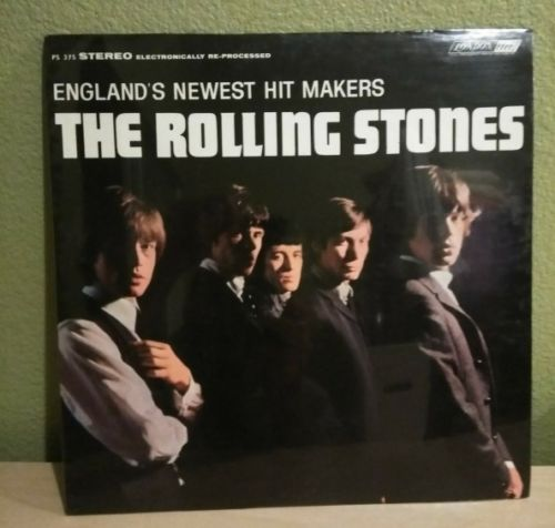 THE ROLLING STONES ENGLANDS NEWEST HIT MAKERS LONDON PS 375 SEALED