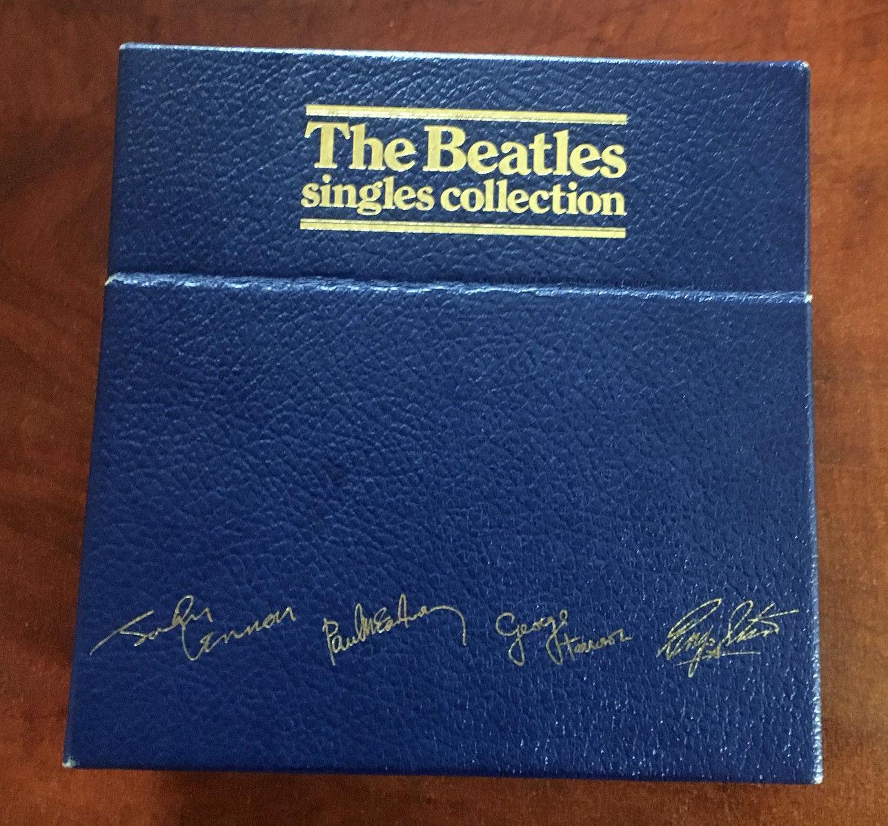 "The Beatles Single Collection"" 45 Blue Box Vinyl Set BSCP1...Mint Condition"