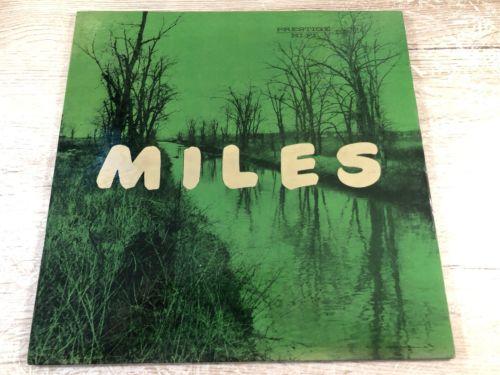 The New Miles Davis Quintet Miles Vinyl LP US 446 W. 50th ST Prestige ?LP 7014
