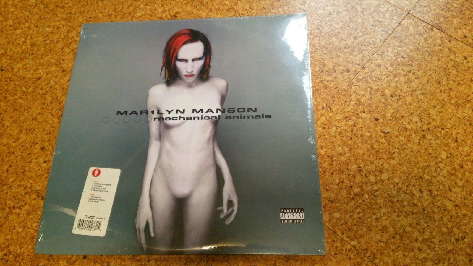 Marilyn Manson - Mechanical Animals 2 LPs vinyl still SEALED.