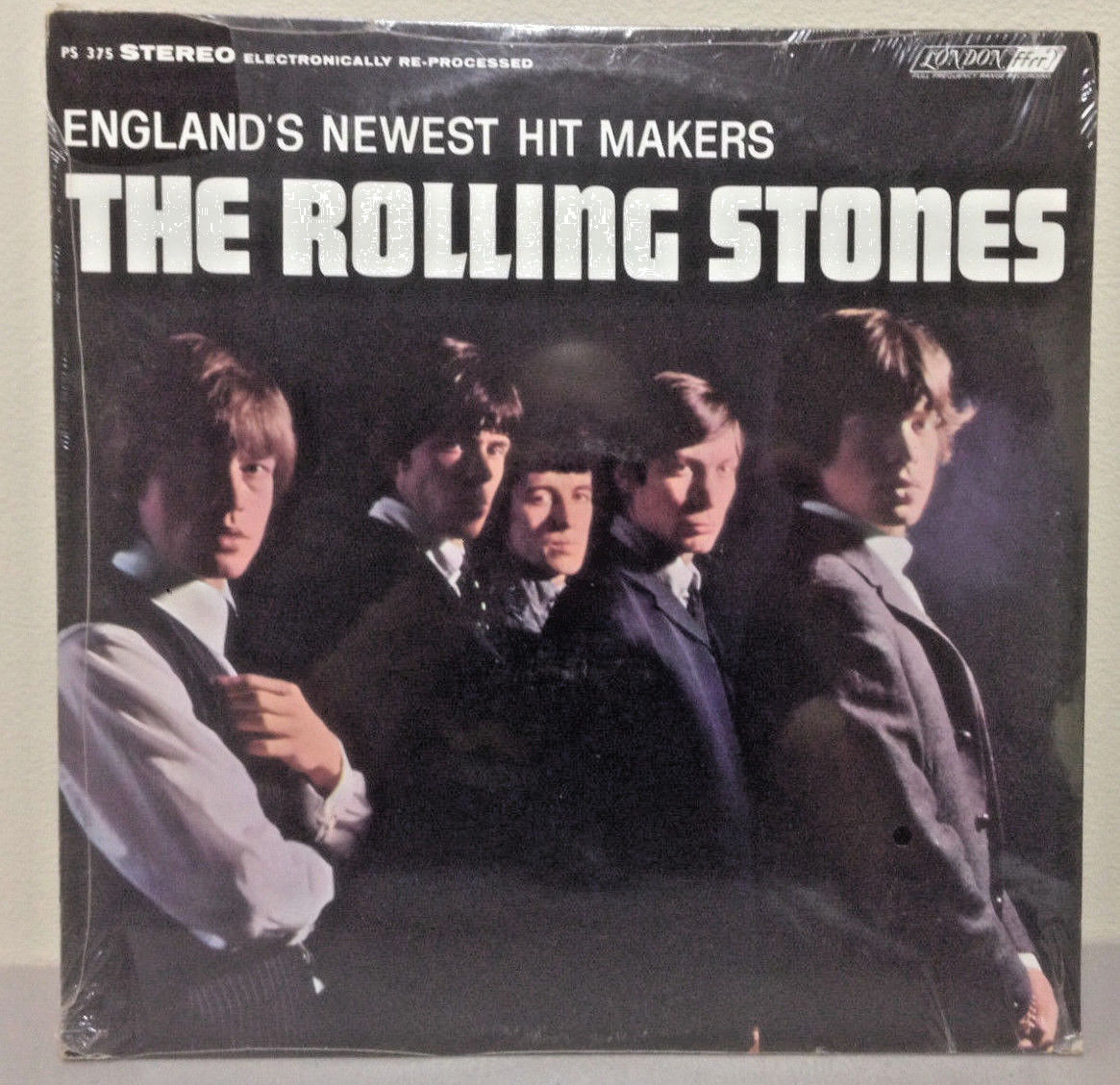 "The ROLLING STONES ""England's Newest Hit Makers"" Sealed Vinyl Album PS 375"