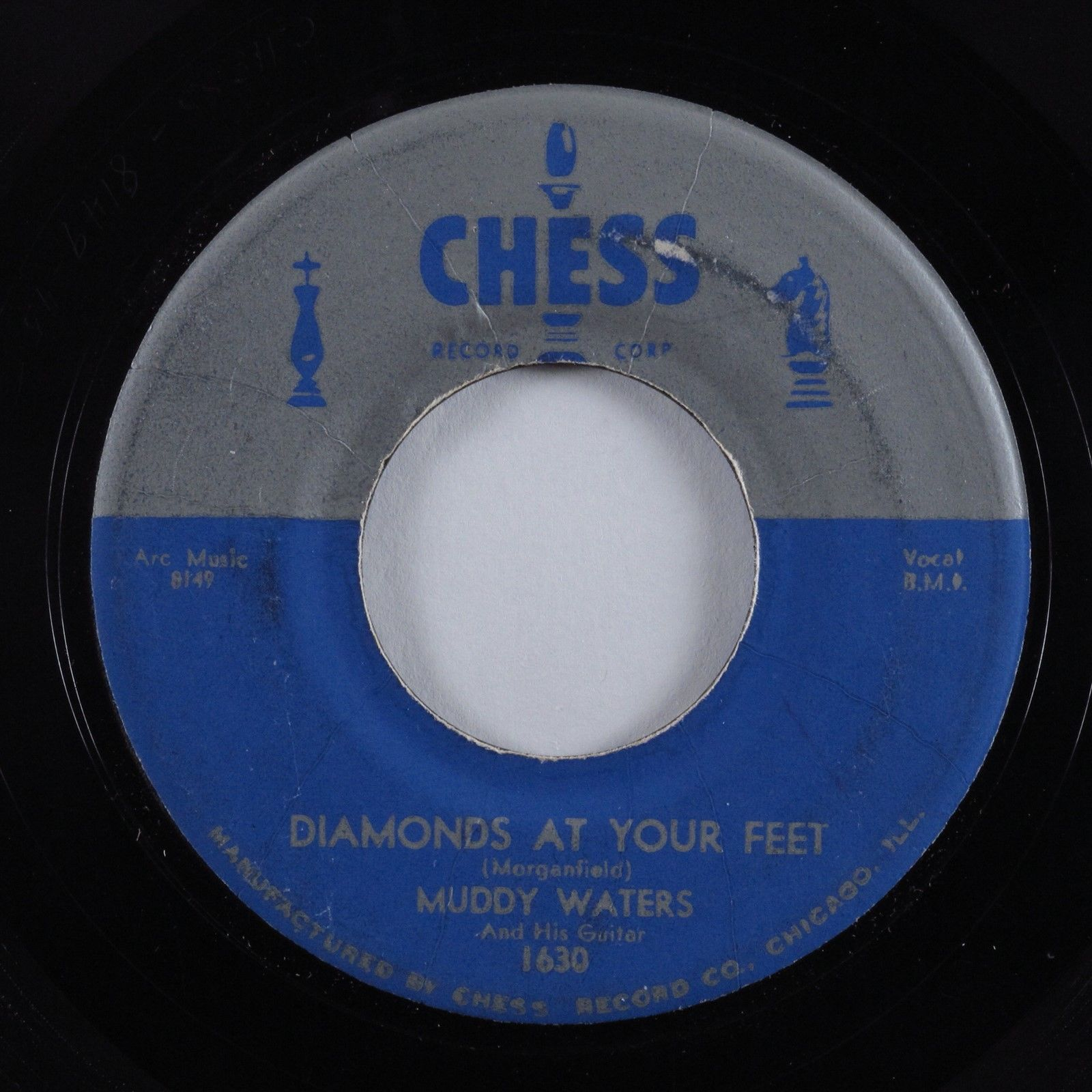 R&B Blues 45 MUDDY WATERS Diamonds At Your Feet CHESS HEAR