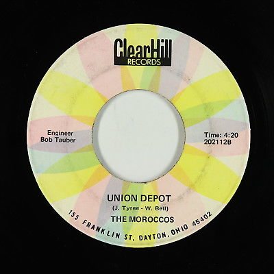 Funk Psych 45 - Moroccos - Union Depot - Clear Hill - VG+ mp3 - rare