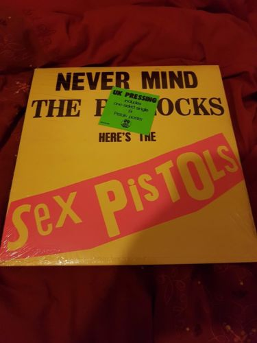 Sex Pistols Never Mind The Bollocks Original UK Spots 001 LP Sealed