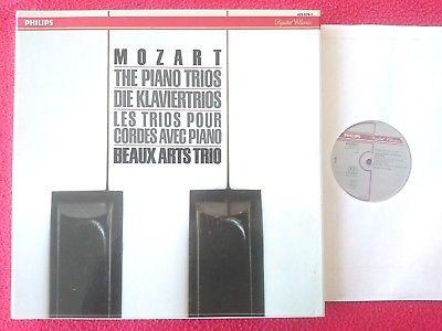 Philips Digital 422 079-1 - Mozart The Piano Trios Beaux Arts Trio 3 X MINT