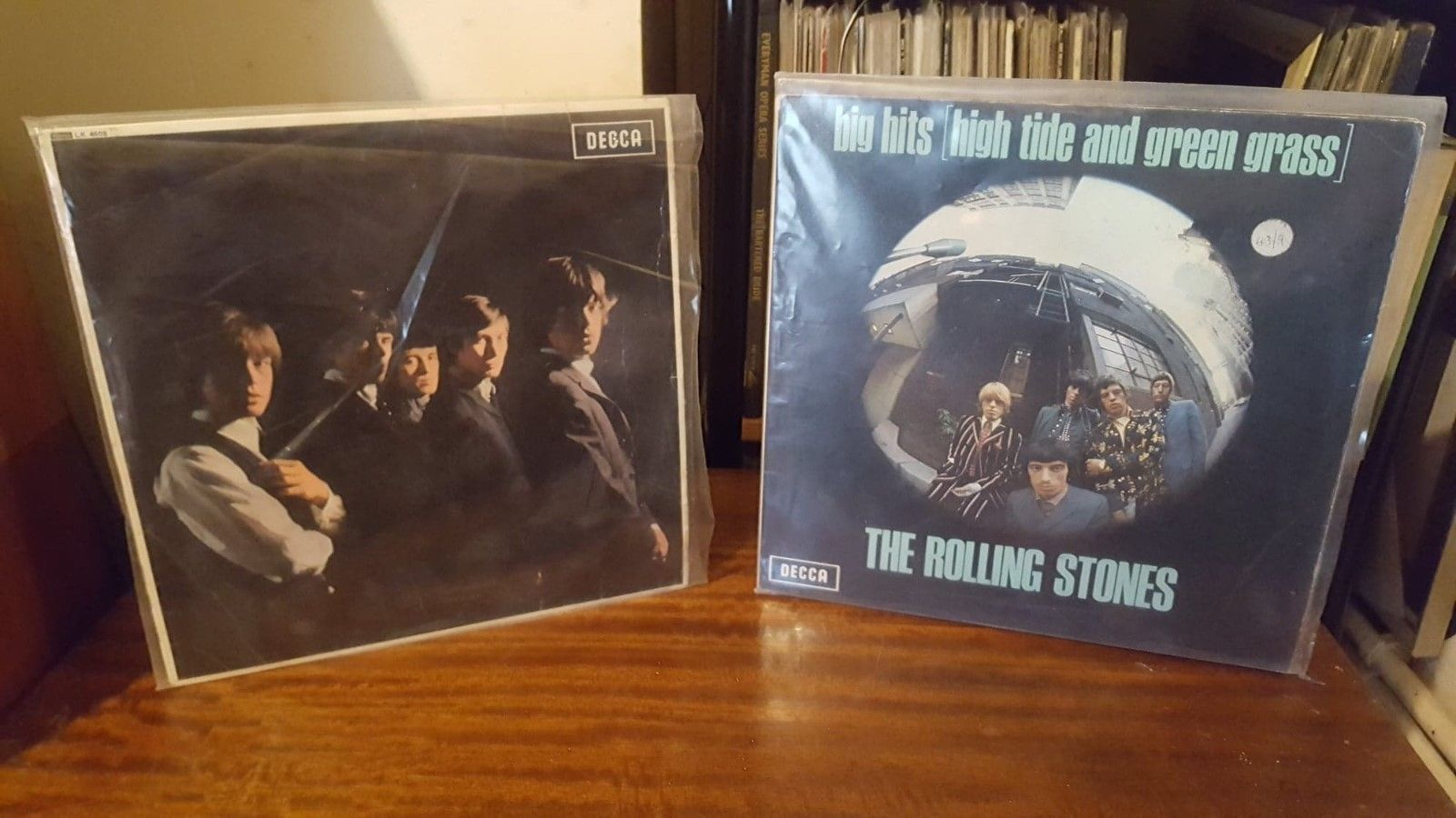 The Rolling Stones Orig Uk 1st Pressings Vinyl Lp's Decca TXS 101 / LK 405 Rare