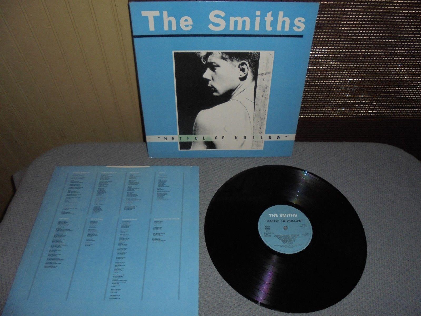 "The Smiths ""Hateful Of Hollow"" 1984 (Rough Trade Rough 76) vinyl album"