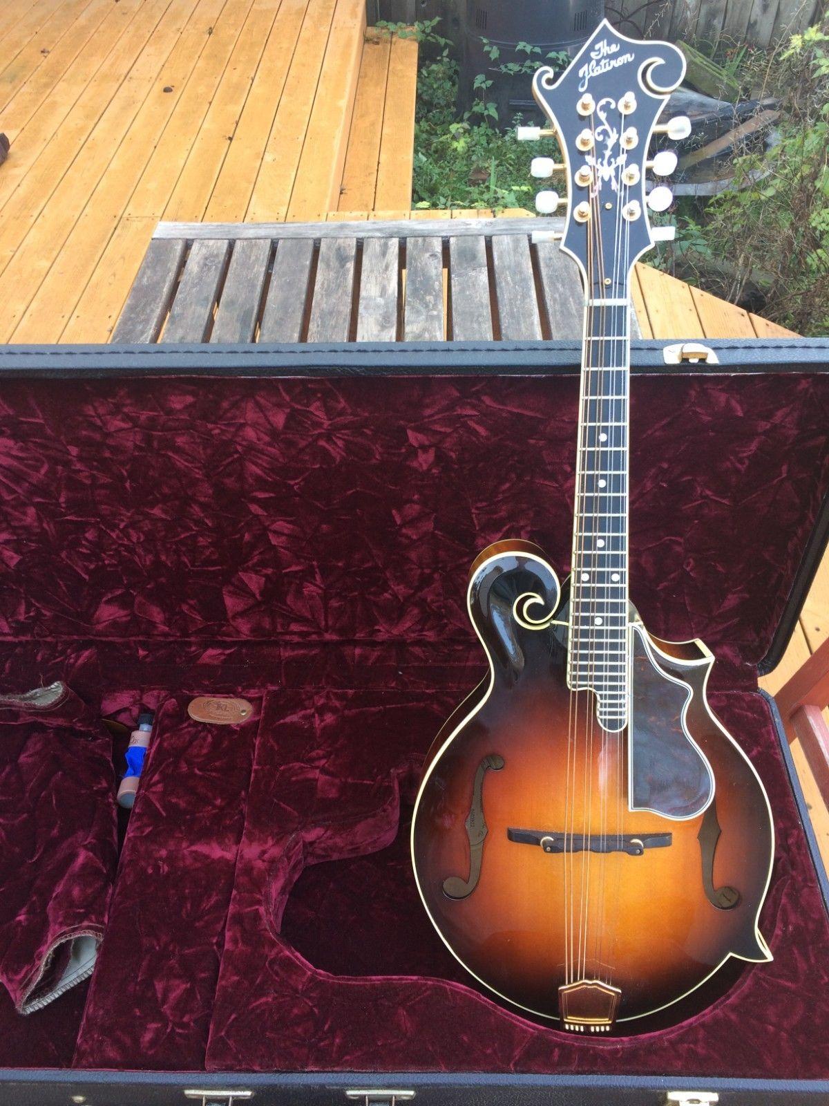 Flatiron F5 Artist 1994 Sunburst Mandolin w/ Original Case