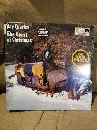 RAY CHARLES - The Spirit Of Christmas - Brand New / COVER VG+ / RARE VINYL