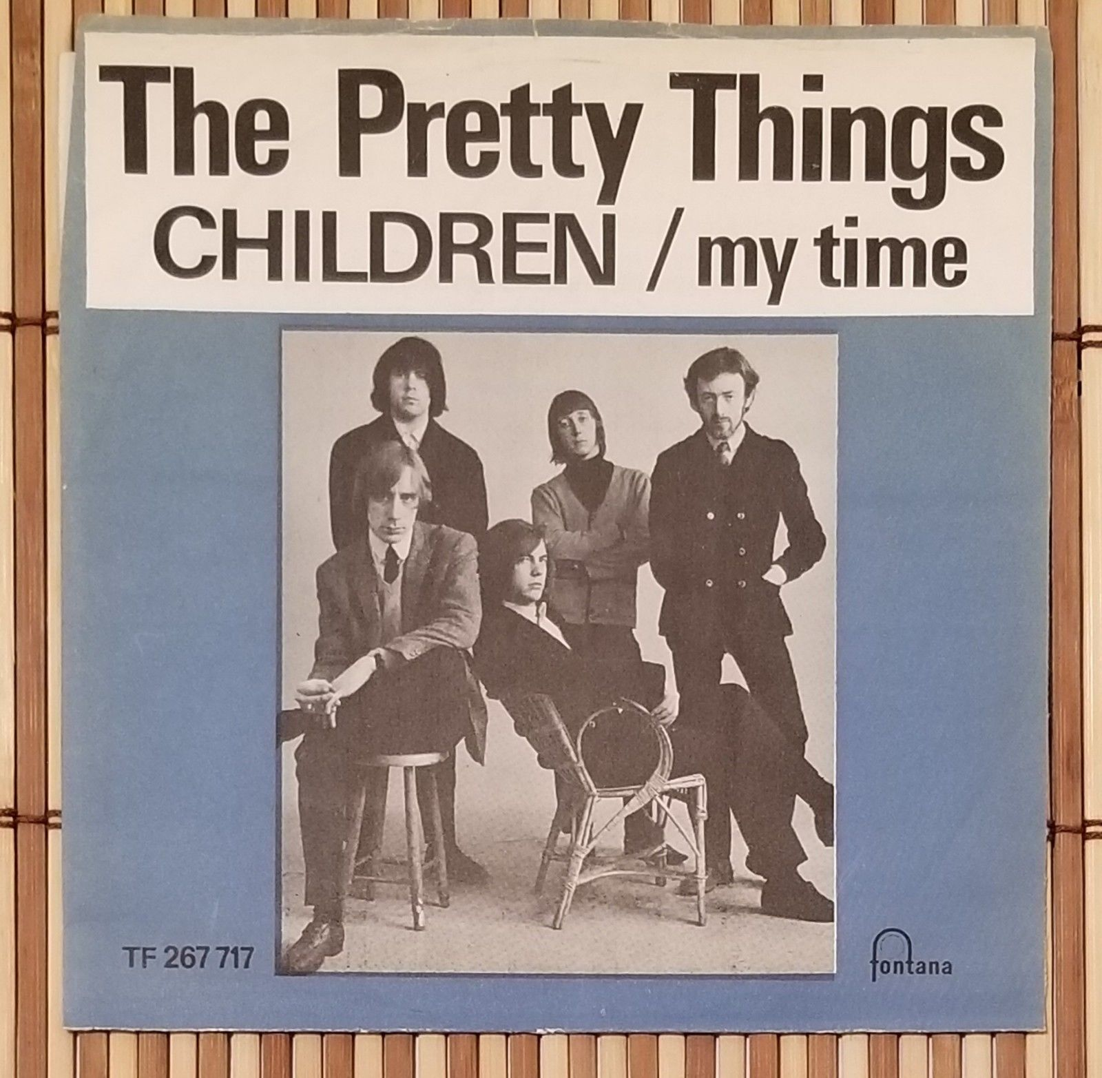 """The Pretty Things ?– Children / My Time 1967 *DENMARK* 7"""" Single 45RPM *Rare*"""