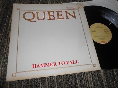 "QUEEN Hammer to Fall/Tear It Up MX 12"" MAXI 1984 EMI 052-2003456 SPAIN *RARE*"