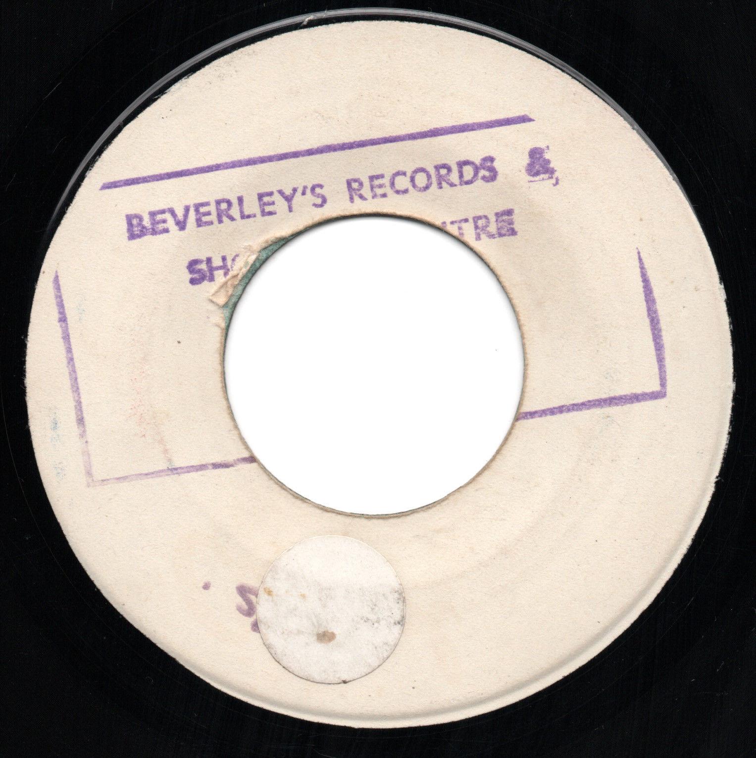 VERY RARE 1970 REGGAE SOUL - PEACE LOVE UNDERSTANDING - THE GAYLADS BEVERLEY'S