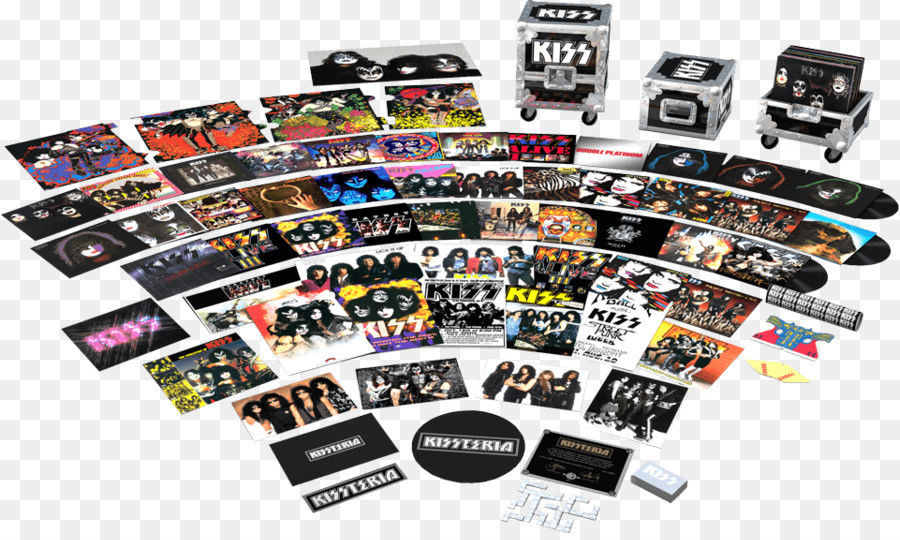 Kissteria The Ultimate Road Case- Complete Includes All 34 Vinyl Lp's  New